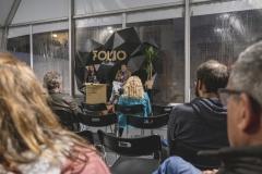 FOLIO 2019 - FOLIO MAISLeitura do seu texto: O medo e o tempo, com Gilda Nunes BarataFoto: Verónica Paulo