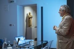 FOLIO 2019 - FOLIO EDUCAMasterclass: A História da Arte face à Criação Estética, ao Comprometimento Ético e ao Infinito Poder ArtísticoVítor Serrão (Centro ARTis-IHA-Faculdade de Letras da Universidade de Lisboa)Foto: Verónica Paulo