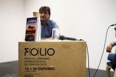 FOLIO 2019 - FOLIO MAISJunta de Freguesia de Olho Marinho apresentaLivro: Diário de uma Portuguesa em Angola de Patrícia PatriarcaESPAÇO ÓFoto: Verónica Paulo