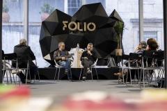 FOLIO 2019 - FOLIO MAISINCM-Imprensa Nacional Casa da Moeda apresenta Coleção D, com Jorge SilvaTENDA DOS EDITORES E LIVREIROSFoto: Verónica Paulo