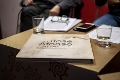 FOLIO 2019 -  FOLIO MAISFundação INATEL apresentaMesa Redonda: 90 Anos Zeca AfonsoFrancisco Fanhais, João Afonso e Viriato TelesModeração de José MoçasMUSEU MUNICIPAL DE ÓBIDOSFoto: Verónica Paulo